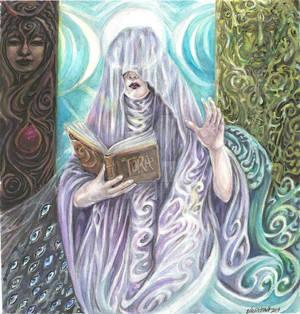 The High Priestess of the Tarot