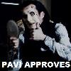 PAVI APPROVES by glancesherlock