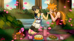KuraAo - Picnic Day by aomehigurashi258