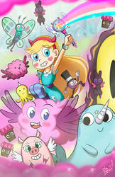 Star vs the forces of evil - By Aome-chan by aomehigurashi258
