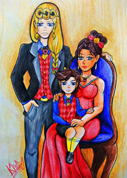 Giovanna Family - By Aome-chan