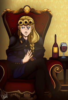 Giorno Giovanna - Adult version by Aome-chan