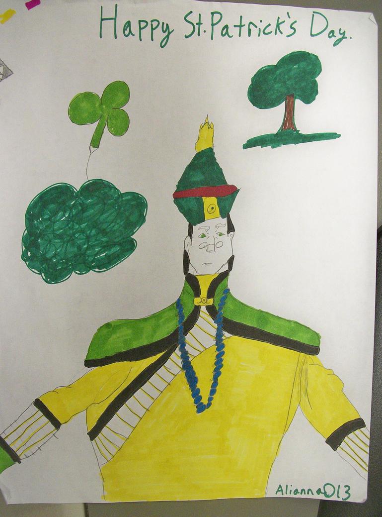 Happy St. Patrick's Day. :3 by Alianna013