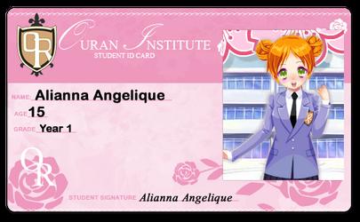 Alianna Ouran Student ID Card. :3 by Alianna013
