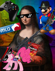 Fun With Photoshop 02 - MLG Lisa by rchammer97