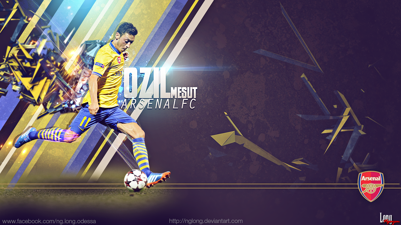 Mesut Ozil Wallpaper 1366x768 By Nglong On DeviantArt