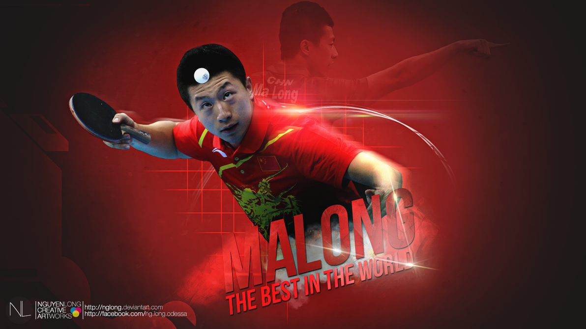 Ma Long Wallpaper by nglong on deviantART