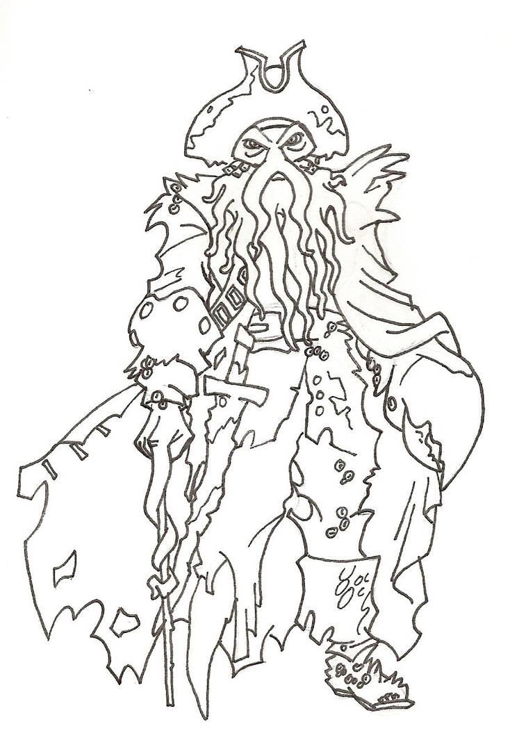 Davy Jones by Spirit-of-Twilight on DeviantArt
