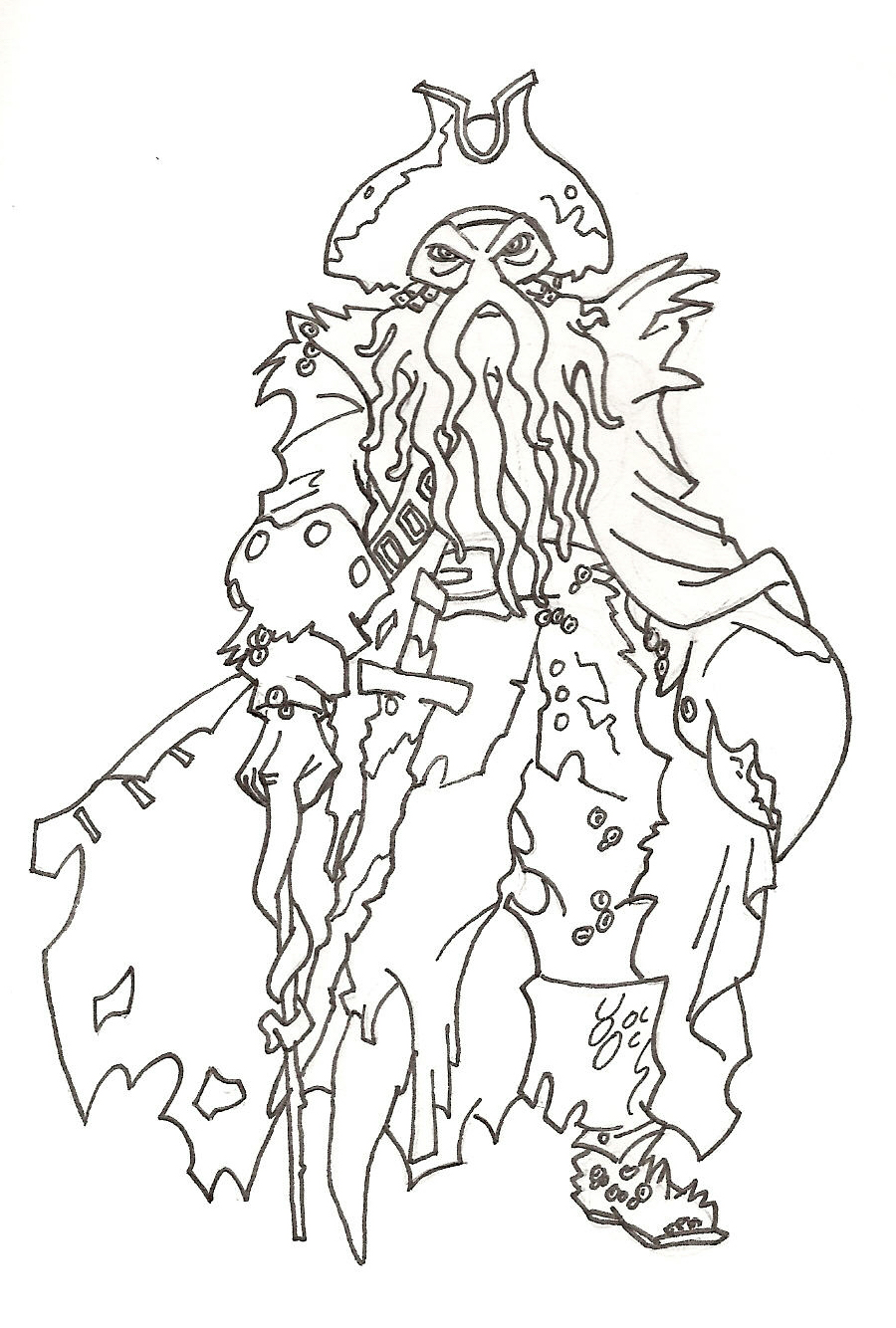 coloring pages pirates of caribbean - photo#30