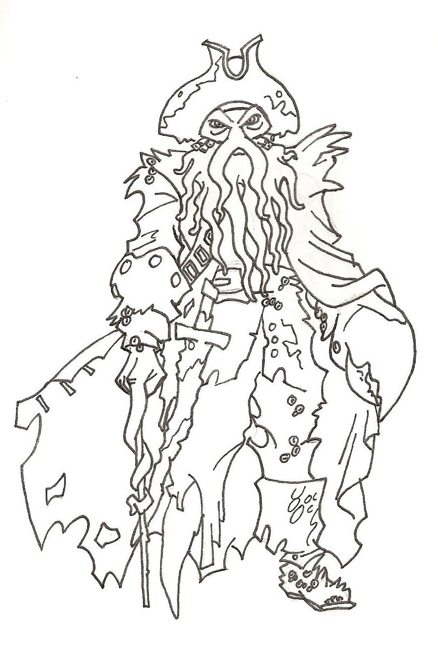 Davy Jones By Spirit of Twilight On DeviantArt