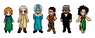 Faction Leader Sprite-things by Spirit-of-Twilight