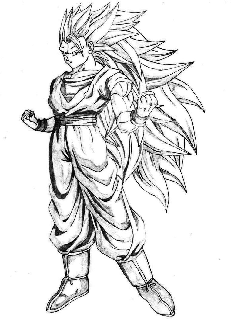Dibujos Para Colorear De Dragon Ball Z Fase 4 ~ Ideas Creativas ...