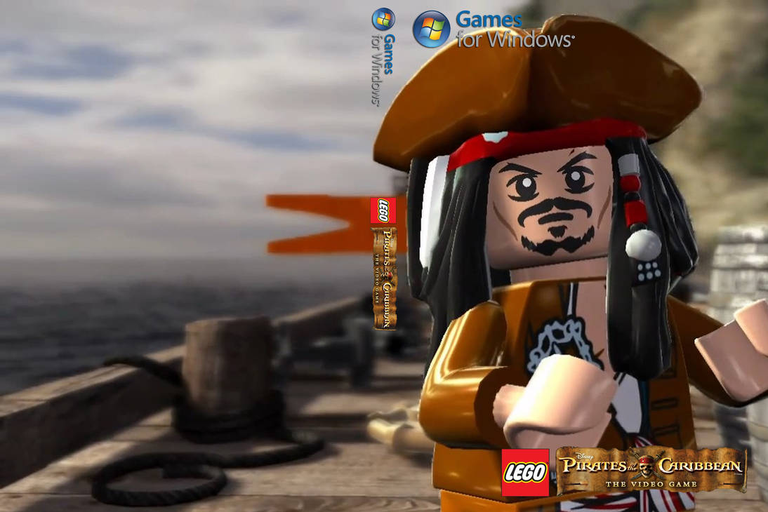 Lego Pirates Of The Caribbean Custom Pc Cover Src By Lambomann007 On