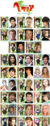 Hetalia Live Action Cast - Full by mistress-kizuna