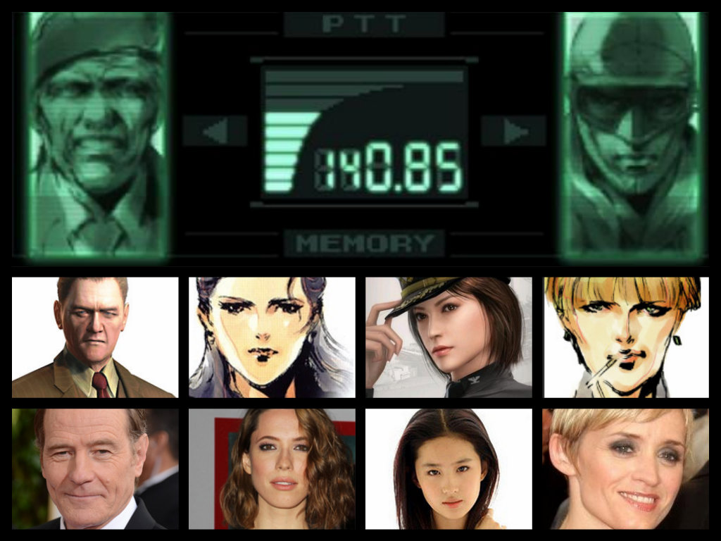 Metal Gear Solid 1 Characters