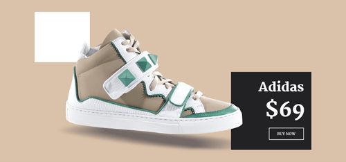 Avartan Slider WordPress plugin - Shoes Slider