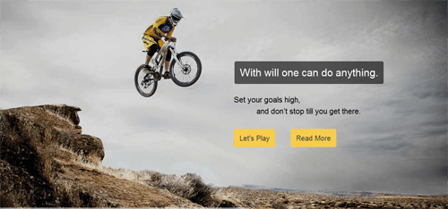 Avartan slider WordPress plugin - Sports slider