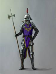Hylian Soldier by Nosonart