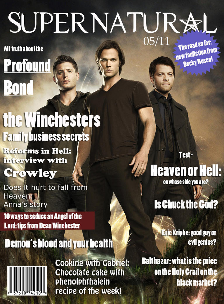 Supernatural Magazine Issue #24 May 2011 Jared and Jensen About Season 6 w/Posters