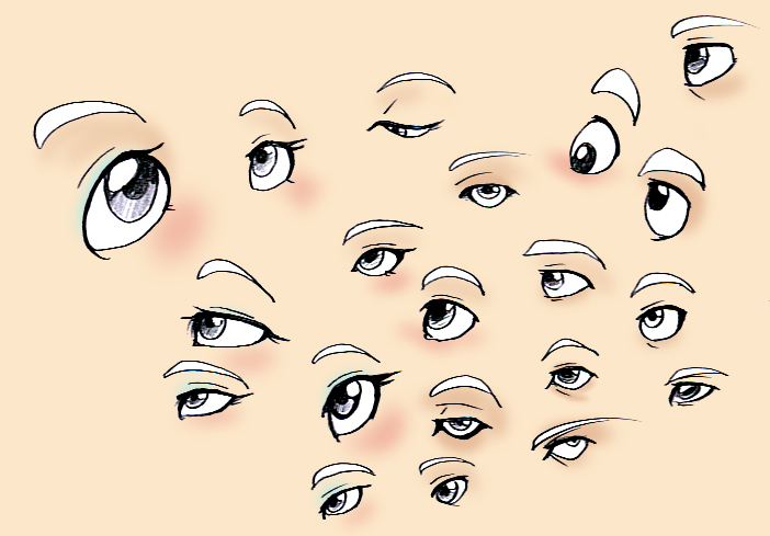 Eyes Reference by Fyuvix