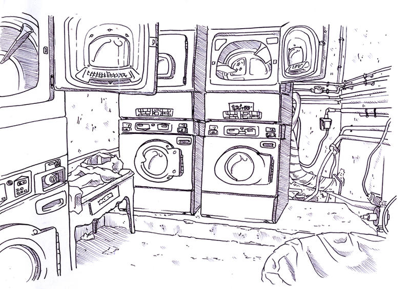 The Laundry Room by Fyuvix on deviantART