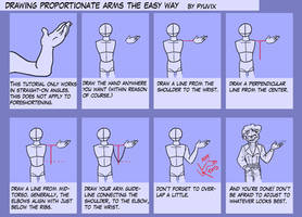 Tutorial- Proportionate Arms by ThirdPotato
