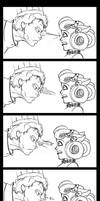 Comic- The Staring Contest by ThirdPotato