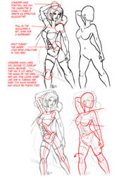 Redline- Some Female Anatomy by ThirdPotato