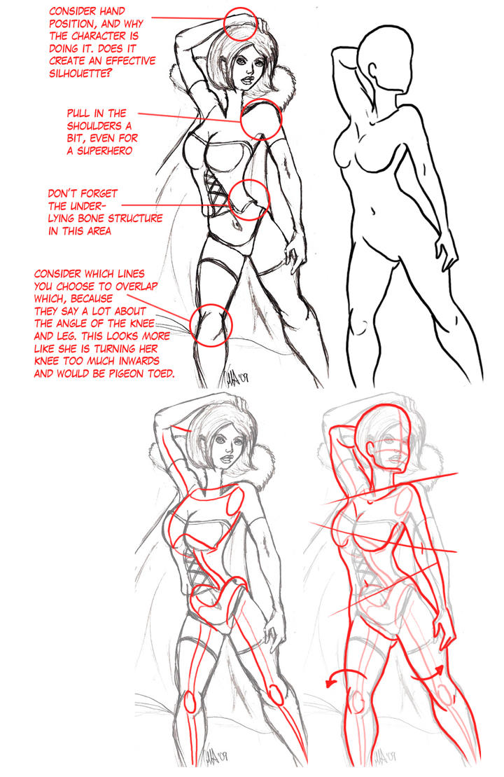 Redline- Some Female Anatomy by ThirdPotato on DeviantArt
