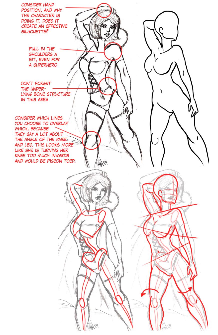 Redline- Some Female Anatomy by ThirdPotato on DeviantArt