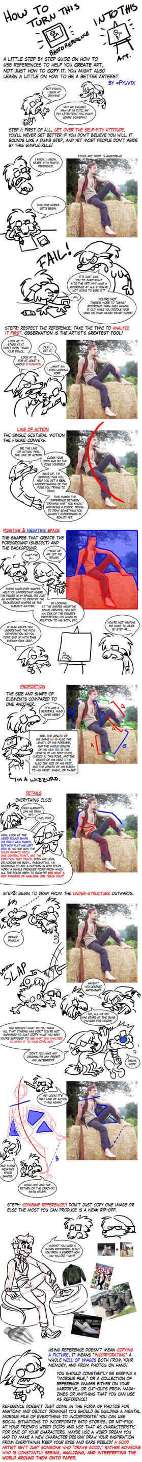 Tutorial-Using Photo Reference by ThirdPotato