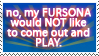 Stamp- Dont Play w My Fursona by Fyuvix