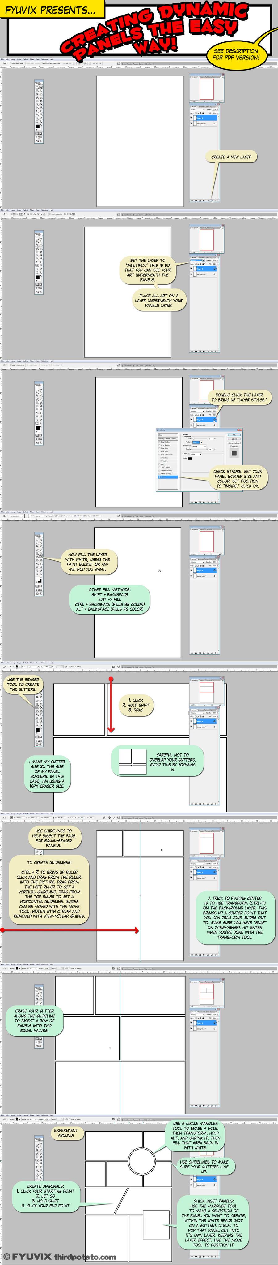 Tutorial- Easy Dynamic Panels by Fyuvix