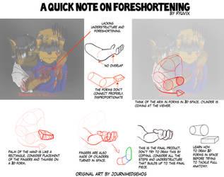 Redline- Notes on Foreshortening by ThirdPotato
