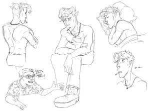 Teddy sketches