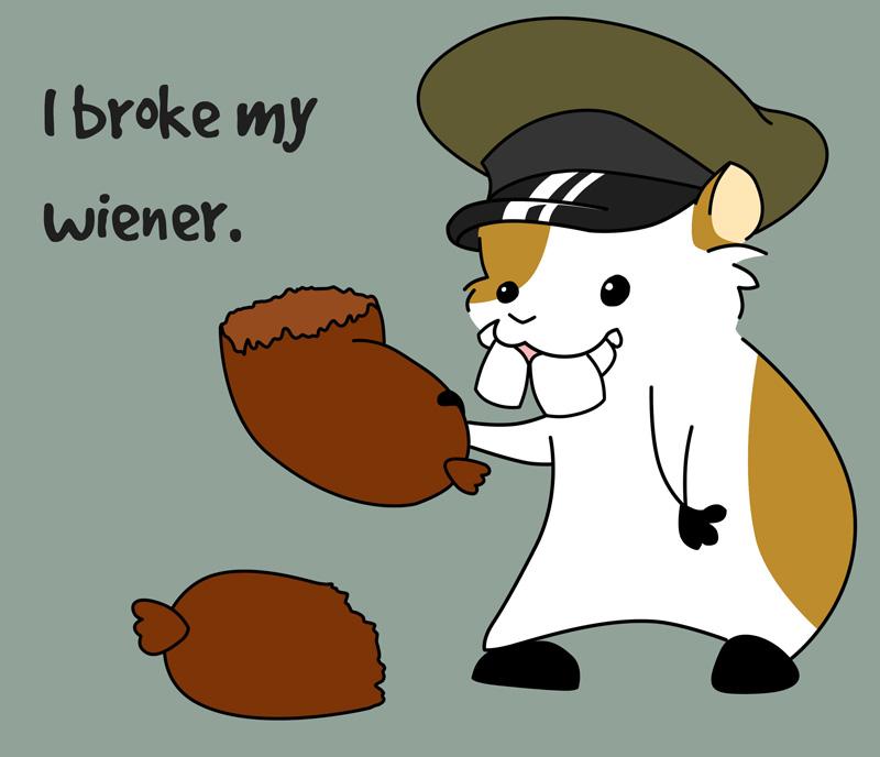 I Broke My Wiener by Fyuvix