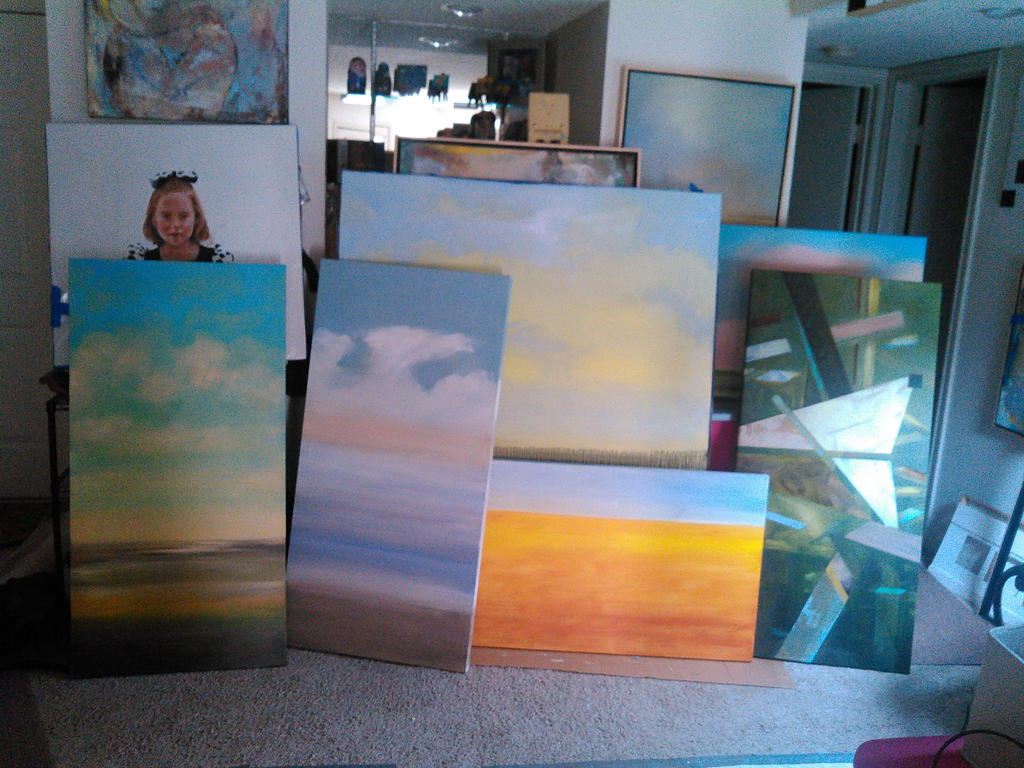 7 new canvases started by sllatreille