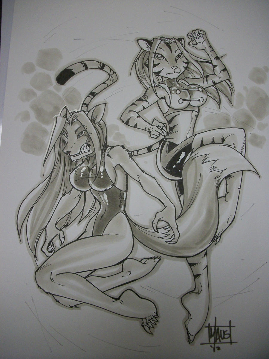 Comic Con: Tierra and Syla by Ftanng