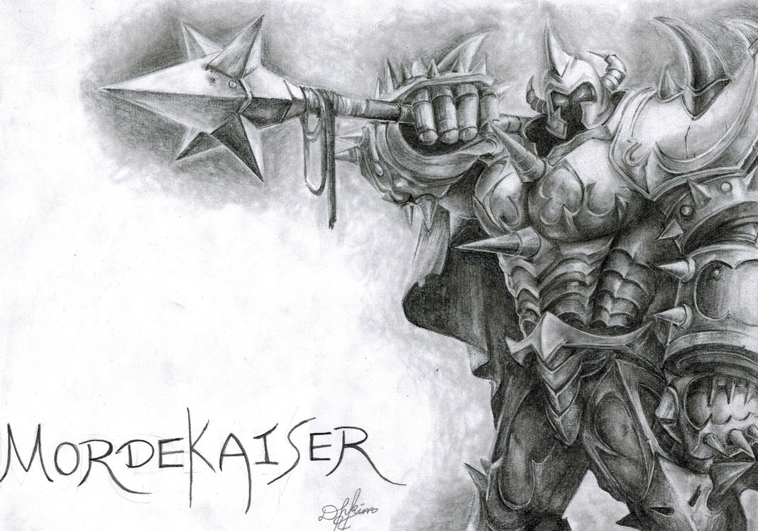 Mordekaiser - League of Legends by Oxide23