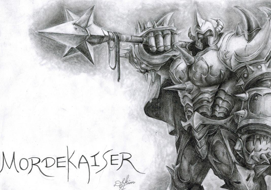 Mordekaiser - League of Legends by Oxide23