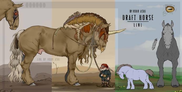 Draft horse. Line. 2020 | FOR SALE | P2U