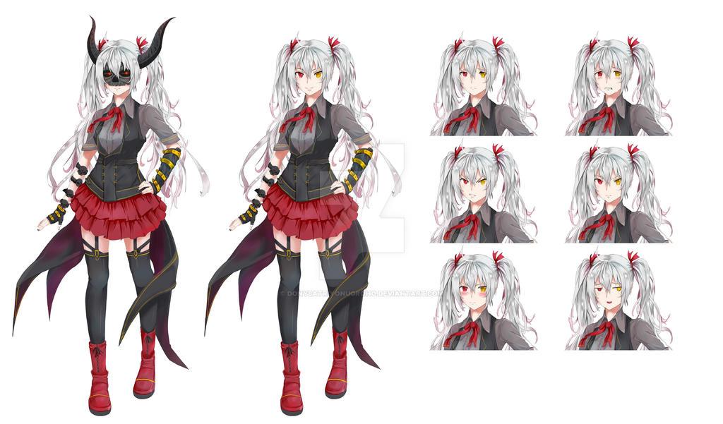 Character Design Visual Novel : Nd visual novel character by donysatriyonugroho on deviantart