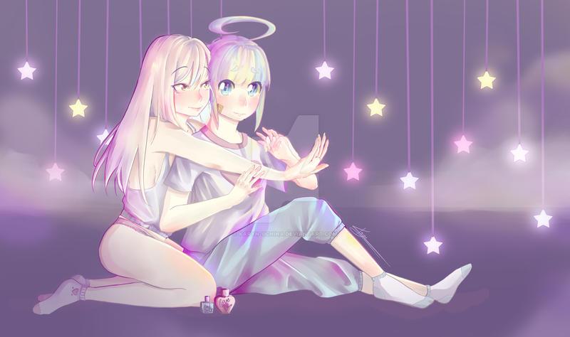 Foundan y Rin Sleeping Night