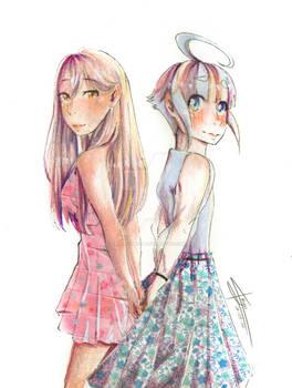 Rin y Foundan Love Love Love