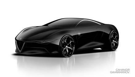 Alfa-sketch Super-car2 by Cahanqir