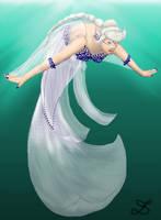 CA: Mermaid Sapphire Swan