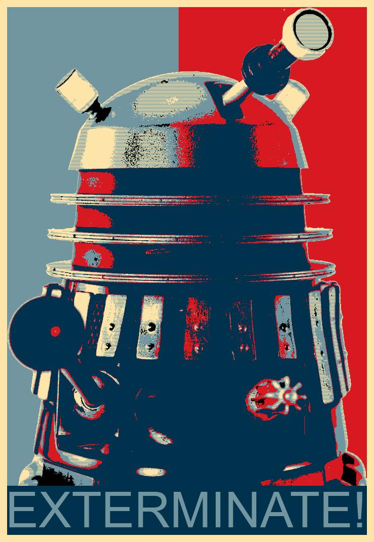 Dalek Hope Poster by anckerboy24 on DeviantArt