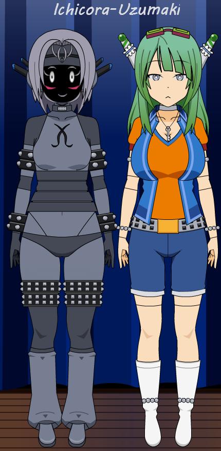 Kisekae Robot and Android by Ichicora-Uzumaki