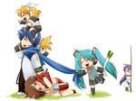 Vocaloids family