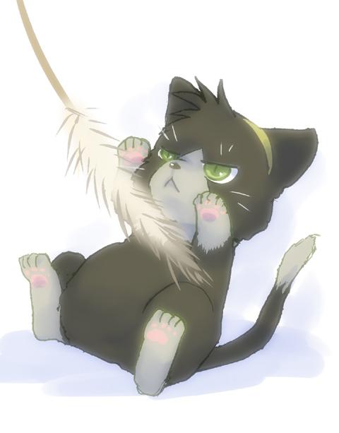 Linne-cat by kisataro